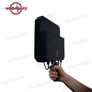 De Draagbare 6baste Stoorzender van de hoge Macht/Blocker, Stoorzenders voor Al Mobiele Straal 20100m van de Dekking van de Telefoon 3G/2g (GSM/CDMA/DCS) /4glte/Wi-Fi2.4G