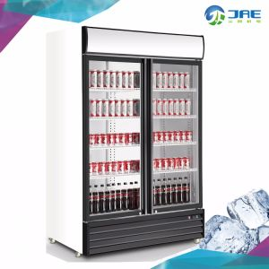 直立した表示飲料の冷たい飲み物冷却装置