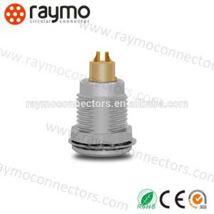 コネクターを受けとっている互換性のあるLemosの卵の固定ソケット4 Pinの金属の円のプッシュプル自己