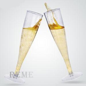 工場プラスチック製品テーブルウェアコップのワインの飲料水のびんのシャンペンガラス