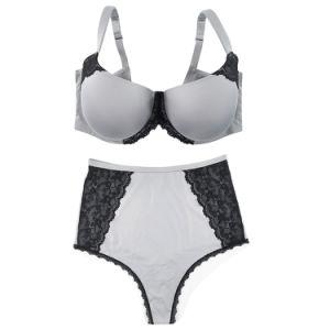 2018 de alta calidad baratos Push up Bra Plus Size y Panty establece