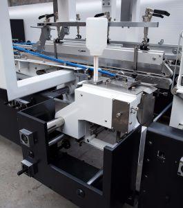Boîte en carton ondulé automatique Machine d'encollage de pliage (GK-800GS)