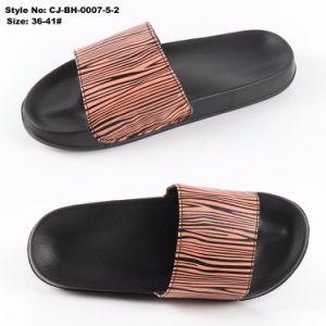Новая конструкция оптовой PU верхний слайды сандалии опорной части юбки поршня