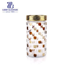 [1000مل] زاويّة عسل مرطبان زجاج مع غطاء ([غب21901000إكسه-جب4])