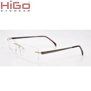 0c8f2e08e China nova qualidade quente sem rebordo da estrutura de óculos de titânio