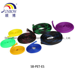 編みこみの拡張可能ケーブルの織機のスリーブを付ける自動馬具ワイヤー20mmをおおう