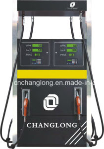 Dispensador de combustível quatro bicos para a estação de serviço