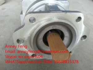 De Lader van het Wiel van KOMATSU een wa600-1-Hydraulische Pomp van het Toestel 705-58-46001