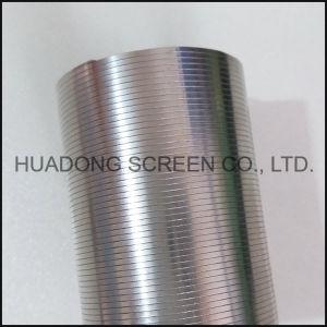 Профиль с помощью проволоки экрана трубку фильтра круглость клин провод сетчатый фильтр из нержавеющей стали 316L