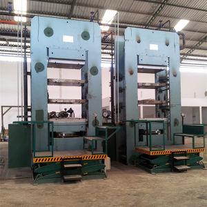 Gummimatten-Vulkanisator-Presse/Kuh-Matte, die Maschine herstellt