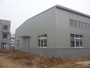 Estructura de acero Estructura de acero / seminario / Taller Pre-Engineered edificio industrial (DG2-009)