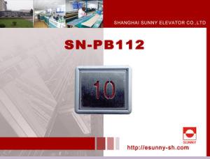 Ersatzteil-geleuchtete Taste (SN-PB112) anheben