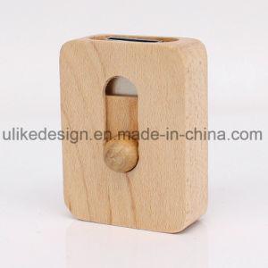 Mini USB Promotion coulissante en bois de disque Flash USB (UL-W015)