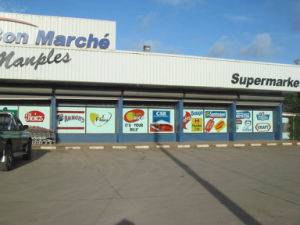 Estructura de acero prefabricada supermercado Edificio (KXD-pH34).