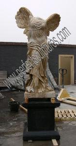 De marmeren Snijdende Antieke Beeldhouwwerk Gesneden Steen van het Standbeeld voor de Decoratie van de Tuin (sy-X1191)