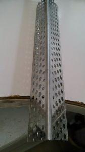 Cordão de canto da parede de plástico para a estucagem tradicional