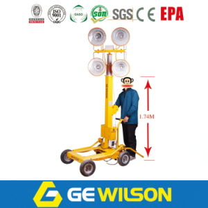 GeneratorsおよびWheelsの移動可能なLight Tower