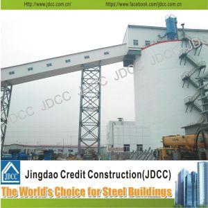 La construcción de la estructura de acero de alta resistencia