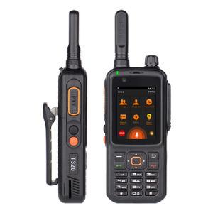 4G LTE Red Push to Talk Radio Walkie Talkie