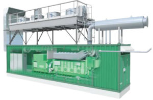 Honny Diesel/Gas Combined HeatおよびPower Plant CHP