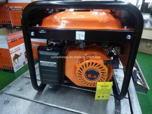 2KW motor de 6.5HP Cable de cobre, Recoil portátil Inicio generador de gasolina para la venta