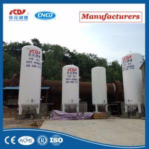 LNG Lox criogénicos Lar do tanque de armazenagem de líquidos Lin