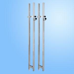 Fechadura da porta de vidro/puxe a trava da alavanca