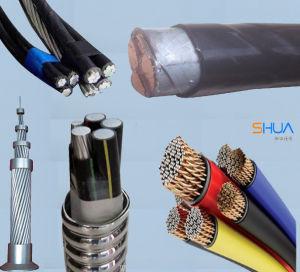 Voltagens 0.6Kv-35kv XLPE PVC/cabo de alimentação
