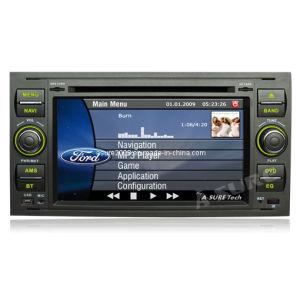 차 7  포드 Focus C Max S Max Fiesta Galaxy Transit (AS-LFF3)를 위한 DVD GPS 토요일 Nav