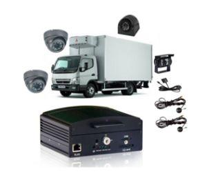 3G coche DVR Wupport Max 4CH de la Cámara de coche dentro de la función de grabación de coche