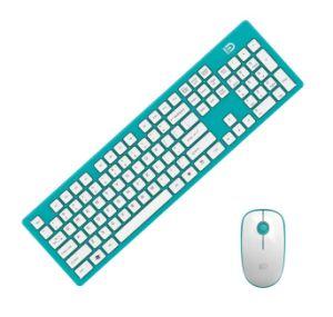 Toetsenbord van PC Colorfull van de manier het Stille Draadloze