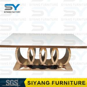 Mesa de jantar Mobiliário Definir Tabela de mármore, mesa de jantar