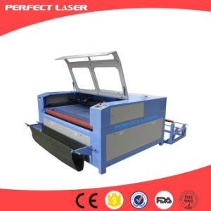 자동 지류 /CO2 Laser 절단기를 가진 직물 Laser 절단기