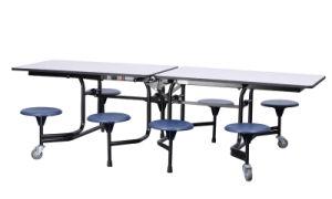 Estudiante de plegado de la mesa de comedor/ Mobiliario Escolar para ...