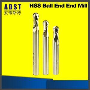 ツイストドリルのための高品質HSSの球の鼻の端製造所