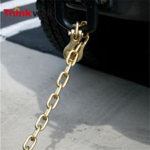 La forja de acero galvanizado de 1/4 de pulgada Tráiler la cadena de seguridad