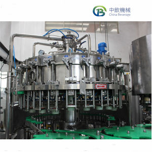 El CO2 automático beber bebidas carbonatadas 3 en 1 equipos de llenado Máquina de Llenado