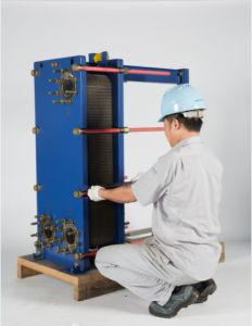 オイルクーラーのためのステンレス鋼の版そしてフレームの熱交換器