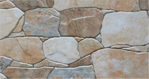 石造りの外壁のタイル300X600mm