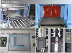 Máquina de envasado automático de botellas de bebidas máquina de envoltura de botella