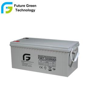 12V 200ahの鉛の酸の深いサイクルUPSの太陽ゲル電池