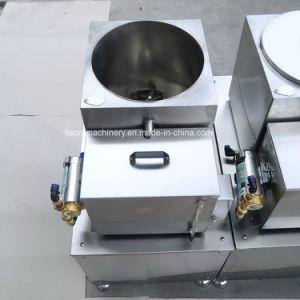 Faixa Dupla automática máquina de sanduíche de biscoitos com máquina de embalagem de fluxo