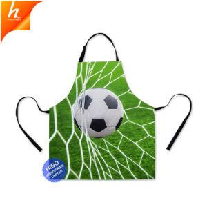 Уникальные футбол 3D печатается на поясе Халат мужской костюм для выпекания фартуков
