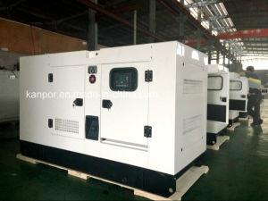 Звуконепроницаемые Silent тип постоянного магнита Европы торговой марки 100 квт пыли генератора