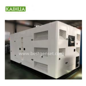 세륨을%s 가진 450kw 침묵하는 유형 디젤 엔진 발전기 세트