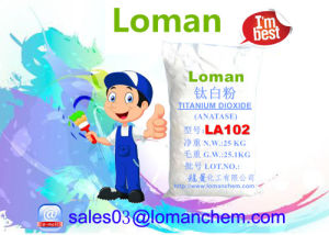 Gewijzigd Gemaakt in het Dioxyde Anatase La102 van het Titanium van China