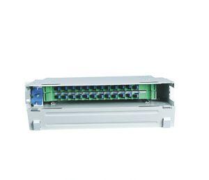 Montado en rack 24 núcleos Caja de distribución de Fibra Óptica -cuadro de la unidad de ODF