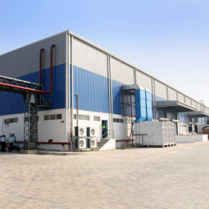Qualitäts-und niedrigster Preis-Stahlkonstruktion-Lager u. Werkstatt