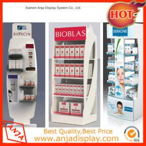 Un design moderne en bois d'affichage cosmétiques pour le magasin étagère de montage