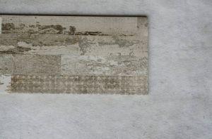 Tegel van de Vloer van het Stadium van de Kleur van rustieke Eco van het Porselein de Vriendschappelijke Grijze Houten